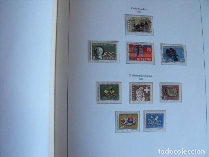 Sellos: Suiza. Álbum y cuaderno con hojas. 1843-1998. Todo en las fotos. - Foto 39 - 219513556