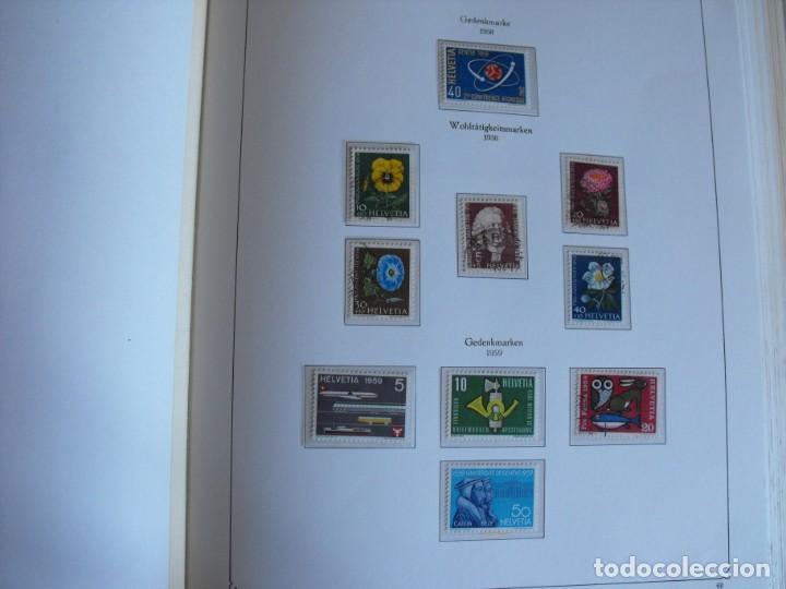 Sellos: Suiza. Álbum y cuaderno con hojas. 1843-1998. Todo en las fotos. - Foto 40 - 219513556