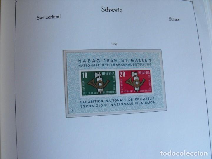 Sellos: Suiza. Álbum y cuaderno con hojas. 1843-1998. Todo en las fotos. - Foto 42 - 219513556
