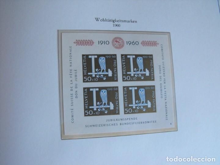 Sellos: Suiza. Álbum y cuaderno con hojas. 1843-1998. Todo en las fotos. - Foto 46 - 219513556