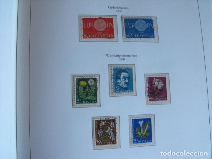 Sellos: Suiza. Álbum y cuaderno con hojas. 1843-1998. Todo en las fotos. - Foto 47 - 219513556