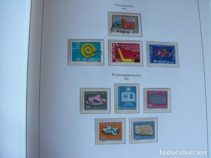 Sellos: Suiza. Álbum y cuaderno con hojas. 1843-1998. Todo en las fotos. - Foto 48 - 219513556
