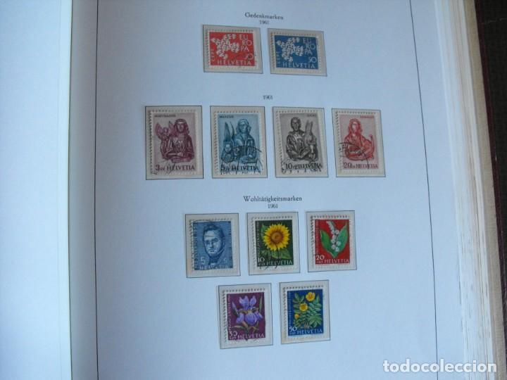 Sellos: Suiza. Álbum y cuaderno con hojas. 1843-1998. Todo en las fotos. - Foto 49 - 219513556