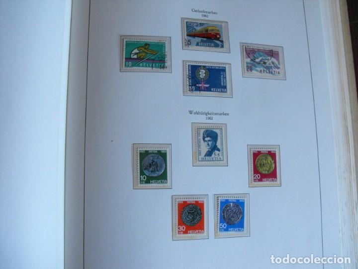 Sellos: Suiza. Álbum y cuaderno con hojas. 1843-1998. Todo en las fotos. - Foto 50 - 219513556