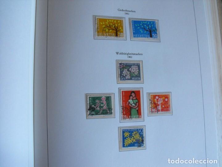 Sellos: Suiza. Álbum y cuaderno con hojas. 1843-1998. Todo en las fotos. - Foto 51 - 219513556