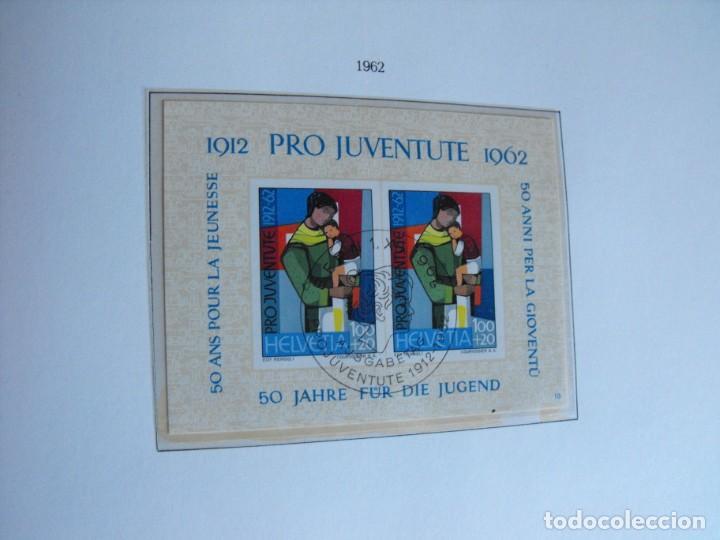 Sellos: Suiza. Álbum y cuaderno con hojas. 1843-1998. Todo en las fotos. - Foto 52 - 219513556