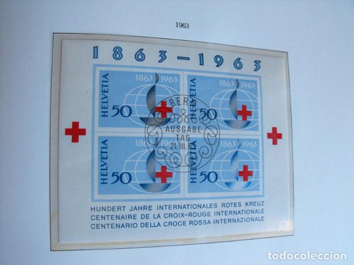 Sellos: Suiza. Álbum y cuaderno con hojas. 1843-1998. Todo en las fotos. - Foto 54 - 219513556
