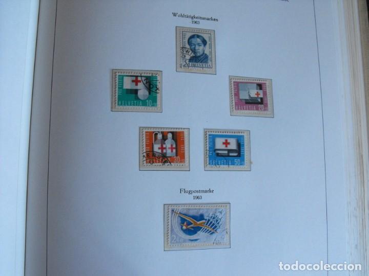Sellos: Suiza. Álbum y cuaderno con hojas. 1843-1998. Todo en las fotos. - Foto 55 - 219513556