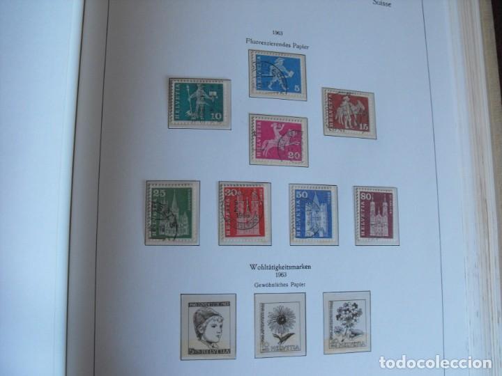 Sellos: Suiza. Álbum y cuaderno con hojas. 1843-1998. Todo en las fotos. - Foto 57 - 219513556