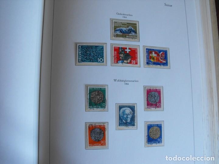 Sellos: Suiza. Álbum y cuaderno con hojas. 1843-1998. Todo en las fotos. - Foto 58 - 219513556