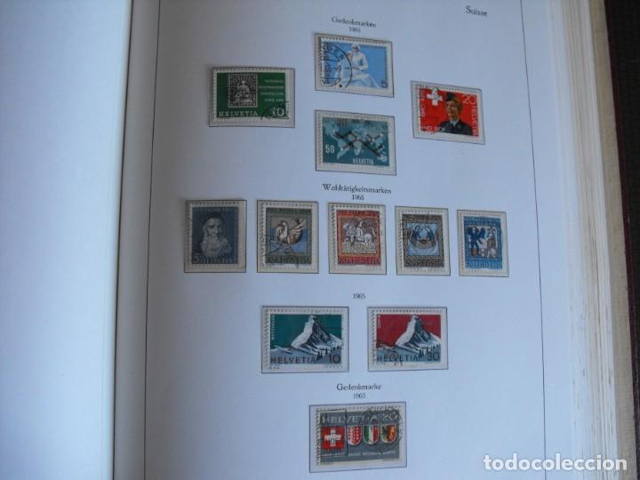 Sellos: Suiza. Álbum y cuaderno con hojas. 1843-1998. Todo en las fotos. - Foto 60 - 219513556