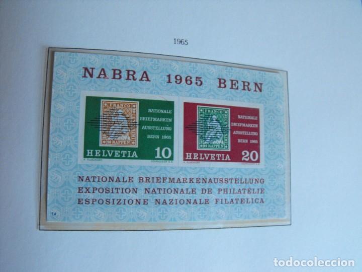 Sellos: Suiza. Álbum y cuaderno con hojas. 1843-1998. Todo en las fotos. - Foto 61 - 219513556