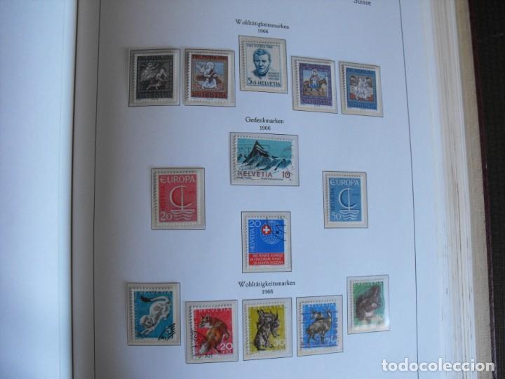 Sellos: Suiza. Álbum y cuaderno con hojas. 1843-1998. Todo en las fotos. - Foto 63 - 219513556