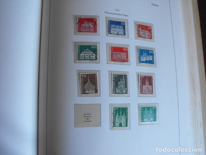 Sellos: Suiza. Álbum y cuaderno con hojas. 1843-1998. Todo en las fotos. - Foto 66 - 219513556