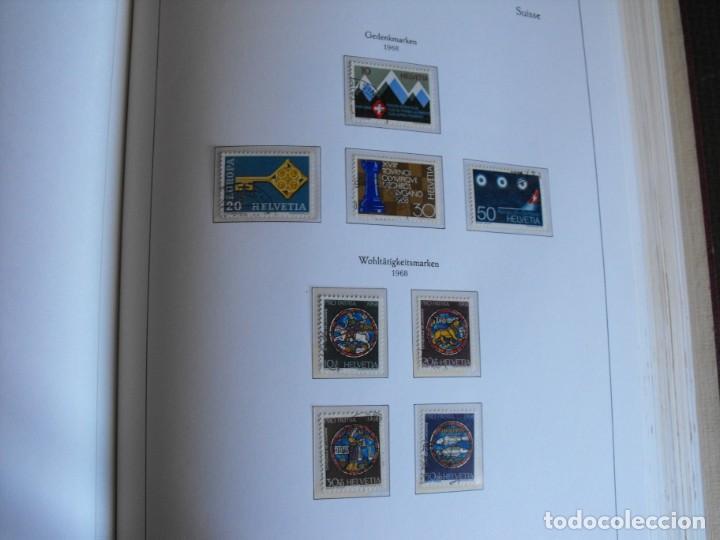 Sellos: Suiza. Álbum y cuaderno con hojas. 1843-1998. Todo en las fotos. - Foto 67 - 219513556
