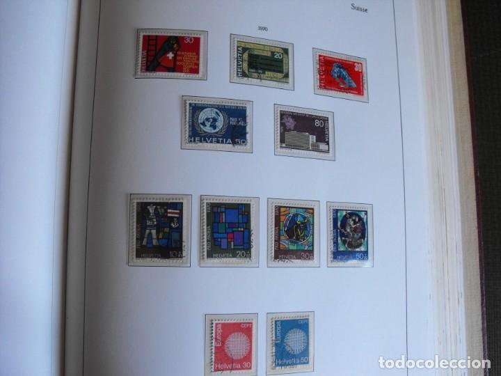 Sellos: Suiza. Álbum y cuaderno con hojas. 1843-1998. Todo en las fotos. - Foto 71 - 219513556