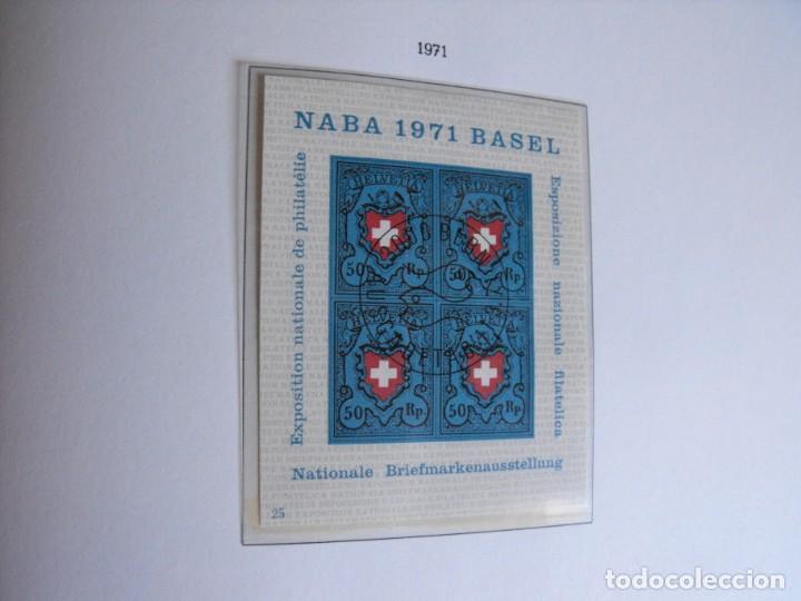 Sellos: Suiza. Álbum y cuaderno con hojas. 1843-1998. Todo en las fotos. - Foto 74 - 219513556