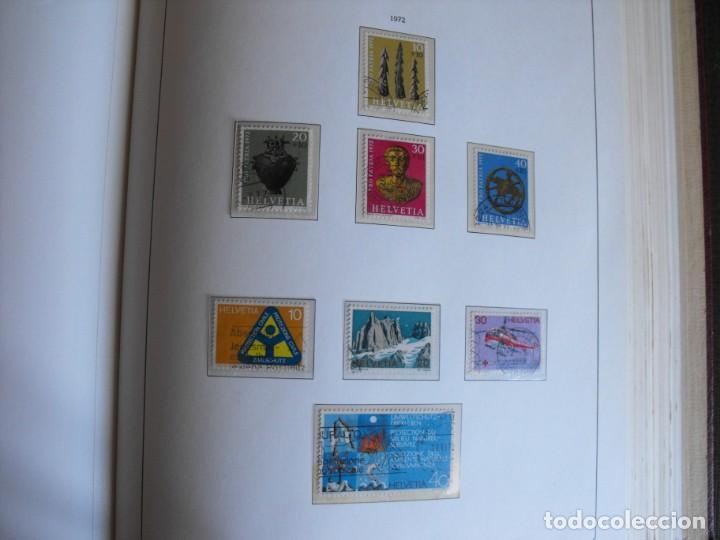 Sellos: Suiza. Álbum y cuaderno con hojas. 1843-1998. Todo en las fotos. - Foto 77 - 219513556