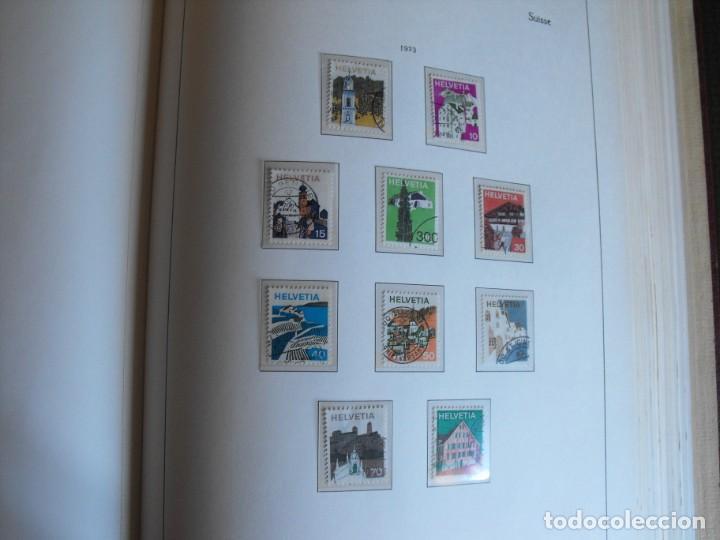Sellos: Suiza. Álbum y cuaderno con hojas. 1843-1998. Todo en las fotos. - Foto 80 - 219513556