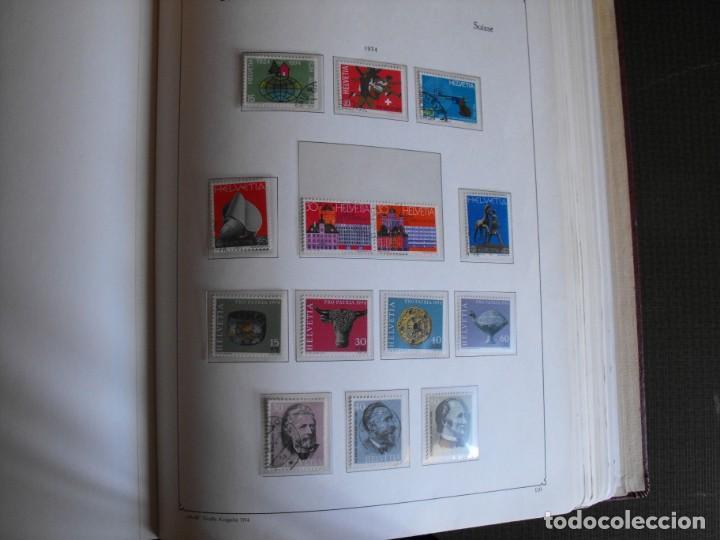 Sellos: Suiza. Álbum y cuaderno con hojas. 1843-1998. Todo en las fotos. - Foto 82 - 219513556