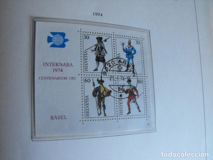 Sellos: Suiza. Álbum y cuaderno con hojas. 1843-1998. Todo en las fotos. - Foto 83 - 219513556