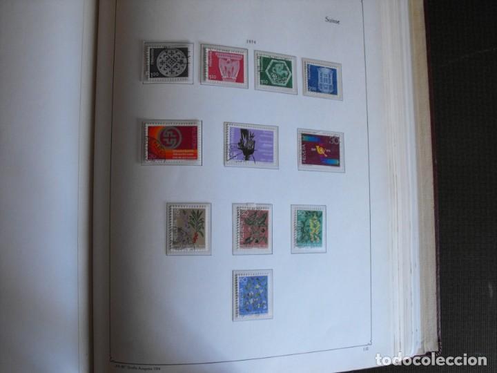 Sellos: Suiza. Álbum y cuaderno con hojas. 1843-1998. Todo en las fotos. - Foto 84 - 219513556