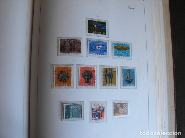 Sellos: Suiza. Álbum y cuaderno con hojas. 1843-1998. Todo en las fotos. - Foto 85 - 219513556