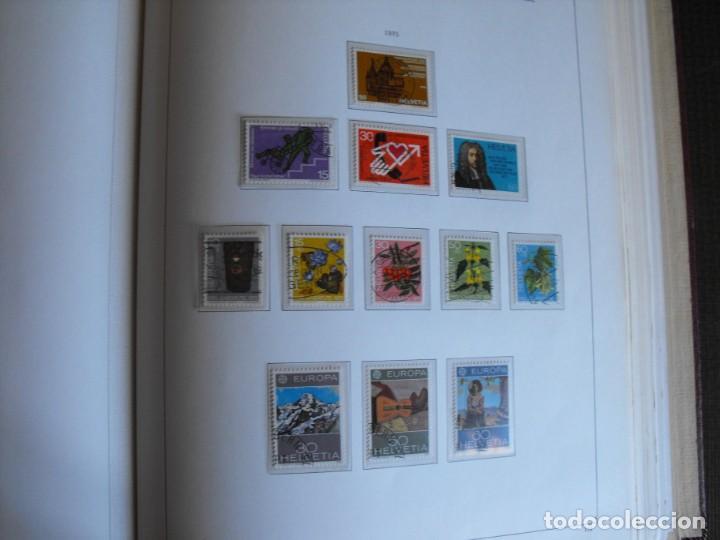 Sellos: Suiza. Álbum y cuaderno con hojas. 1843-1998. Todo en las fotos. - Foto 86 - 219513556