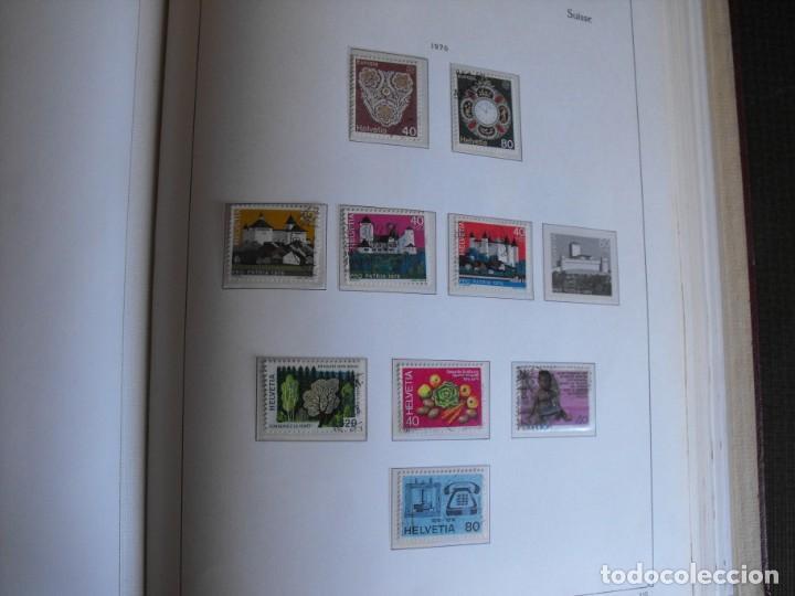 Sellos: Suiza. Álbum y cuaderno con hojas. 1843-1998. Todo en las fotos. - Foto 87 - 219513556