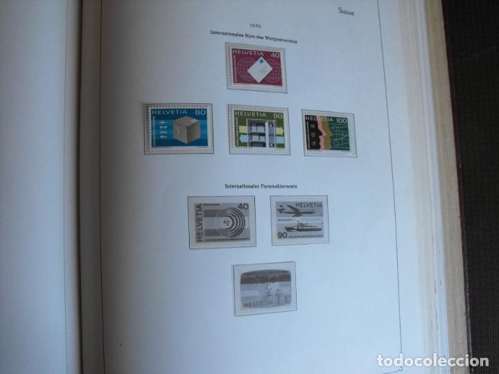 Sellos: Suiza. Álbum y cuaderno con hojas. 1843-1998. Todo en las fotos. - Foto 89 - 219513556
