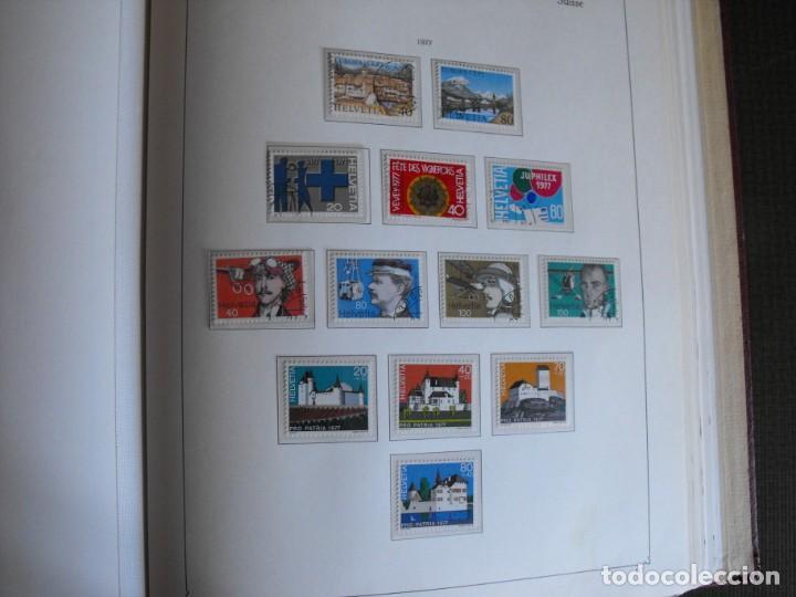 Sellos: Suiza. Álbum y cuaderno con hojas. 1843-1998. Todo en las fotos. - Foto 90 - 219513556