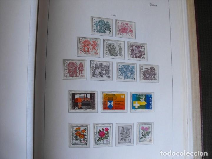 Sellos: Suiza. Álbum y cuaderno con hojas. 1843-1998. Todo en las fotos. - Foto 91 - 219513556