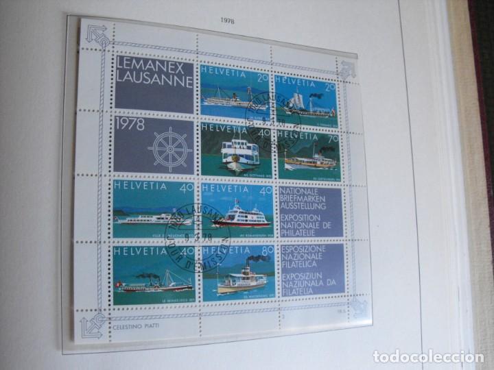 Sellos: Suiza. Álbum y cuaderno con hojas. 1843-1998. Todo en las fotos. - Foto 92 - 219513556