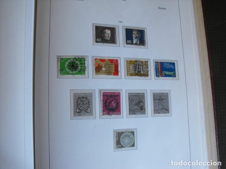 Sellos: Suiza. Álbum y cuaderno con hojas. 1843-1998. Todo en las fotos. - Foto 98 - 219513556