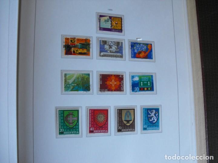 Sellos: Suiza. Álbum y cuaderno con hojas. 1843-1998. Todo en las fotos. - Foto 99 - 219513556