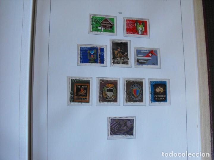 Sellos: Suiza. Álbum y cuaderno con hojas. 1843-1998. Todo en las fotos. - Foto 100 - 219513556
