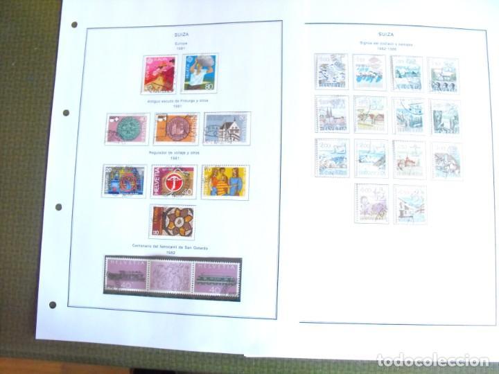Sellos: Suiza. Álbum y cuaderno con hojas. 1843-1998. Todo en las fotos. - Foto 104 - 219513556