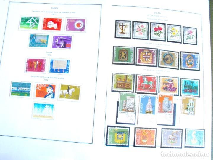 Sellos: Suiza. Álbum y cuaderno con hojas. 1843-1998. Todo en las fotos. - Foto 105 - 219513556