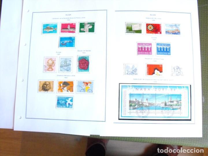 Sellos: Suiza. Álbum y cuaderno con hojas. 1843-1998. Todo en las fotos. - Foto 106 - 219513556