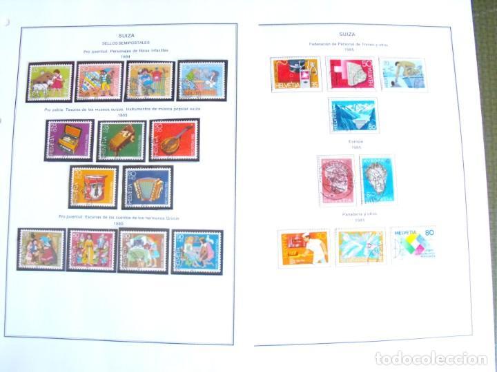 Sellos: Suiza. Álbum y cuaderno con hojas. 1843-1998. Todo en las fotos. - Foto 107 - 219513556