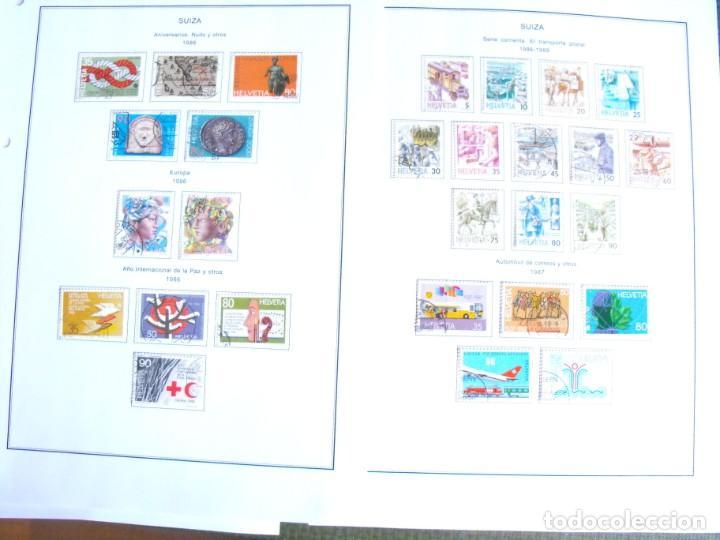 Sellos: Suiza. Álbum y cuaderno con hojas. 1843-1998. Todo en las fotos. - Foto 108 - 219513556