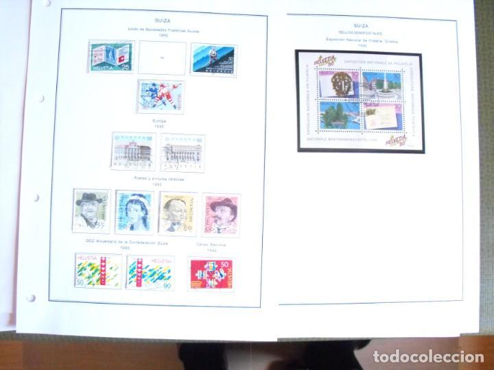 Sellos: Suiza. Álbum y cuaderno con hojas. 1843-1998. Todo en las fotos. - Foto 114 - 219513556