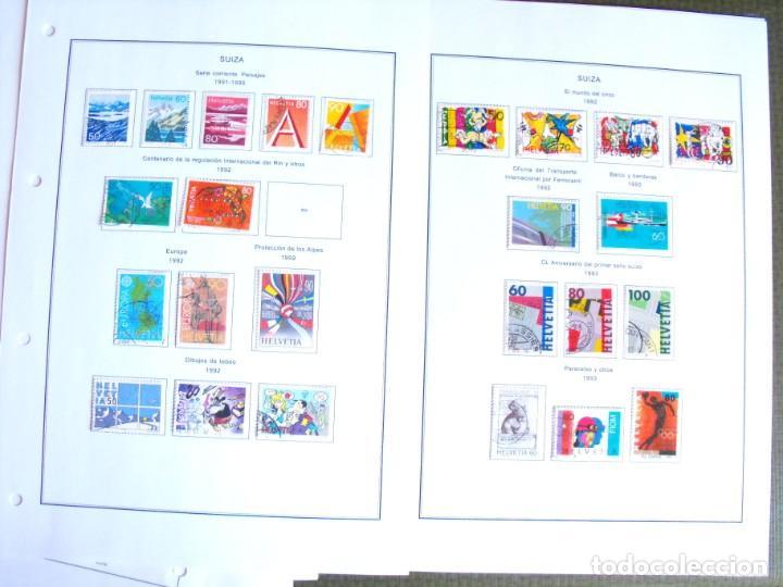 Sellos: Suiza. Álbum y cuaderno con hojas. 1843-1998. Todo en las fotos. - Foto 116 - 219513556