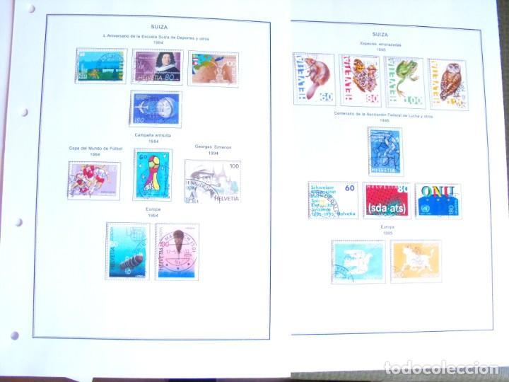 Sellos: Suiza. Álbum y cuaderno con hojas. 1843-1998. Todo en las fotos. - Foto 118 - 219513556