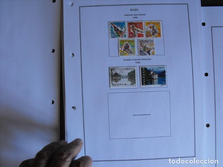 Sellos: Suiza. Álbum y cuaderno con hojas. 1843-1998. Todo en las fotos. - Foto 122 - 219513556