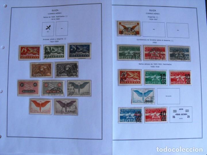 Sellos: Suiza. Álbum y cuaderno con hojas. 1843-1998. Todo en las fotos. - Foto 123 - 219513556