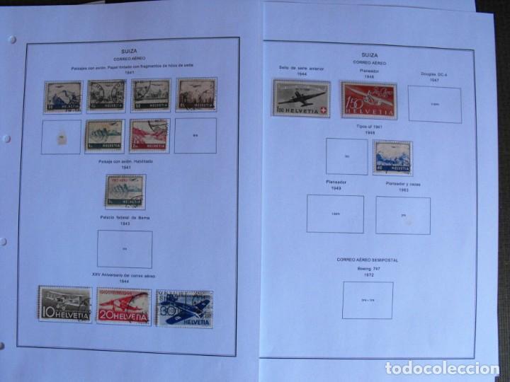 Sellos: Suiza. Álbum y cuaderno con hojas. 1843-1998. Todo en las fotos. - Foto 124 - 219513556