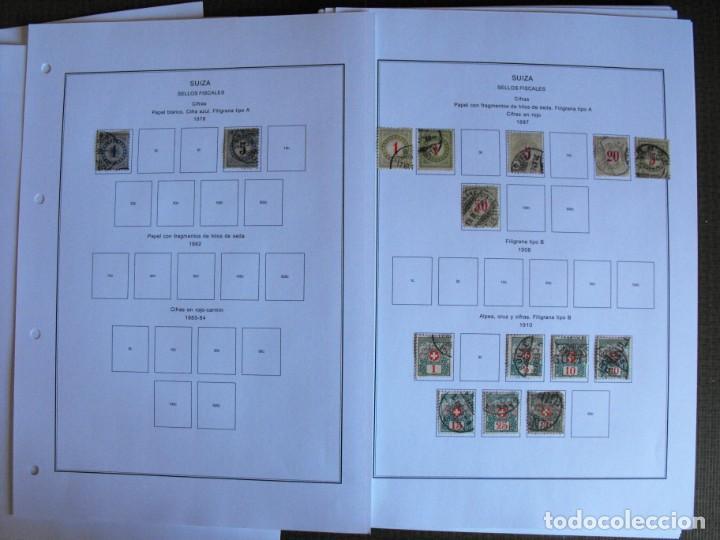 Sellos: Suiza. Álbum y cuaderno con hojas. 1843-1998. Todo en las fotos. - Foto 125 - 219513556