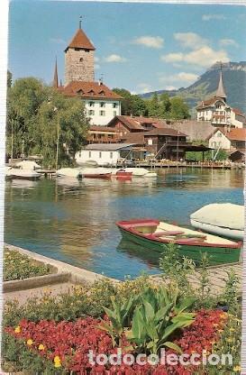 Sellos: Suiza & Marcofilia, Spiez en el Lago, Thun, Castillo, Melksham Inglaterra 1962 (8406) - Foto 2 - 221445295