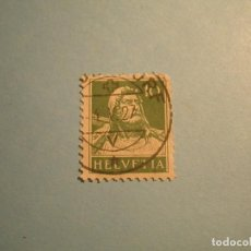 Sellos: SUIZA 1927 - GUILLERMO TELL - 10 VERDE.. Lote 223399562